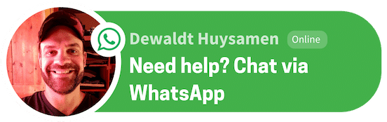 WHATSAPP CHAT BUTTON KICKFATFAST