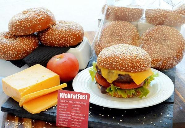 Keto Friendly Hamburger Buns
