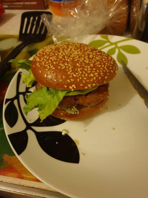 keto friendly hamburger bun