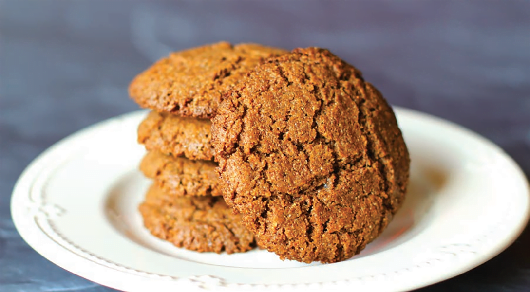Keto Friendly Ginger Cookies